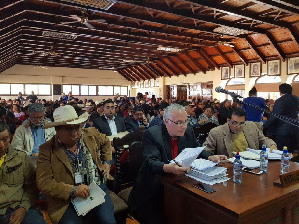 Comunidades exigen derogar ley TRECSA