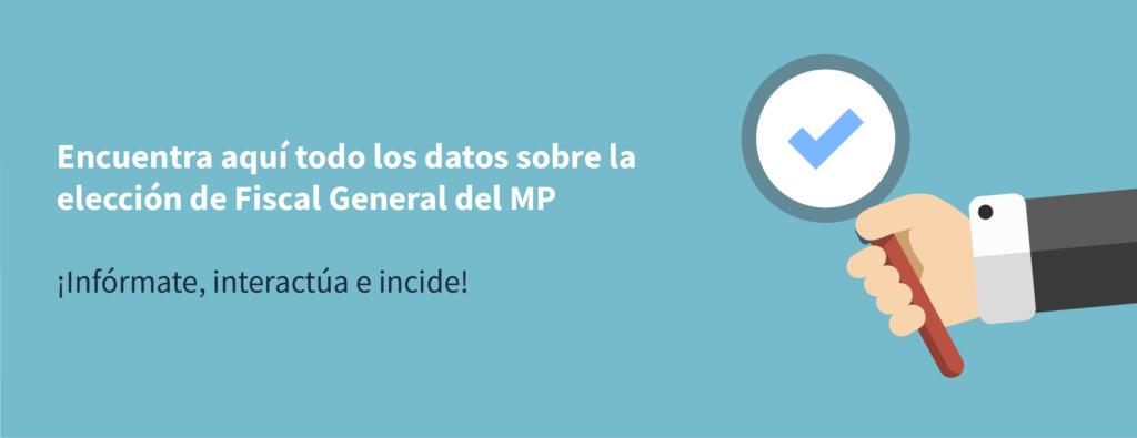 App permitirá vigilar elección de fiscal