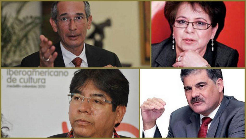Capturan a Álvaro Colom y ex funcionarios de su gobierno