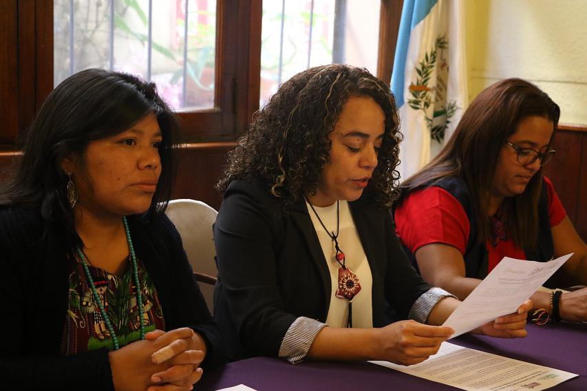 Sobrevivientes de Sepur Zarco piden  aprobar iniciativa de ley 5223