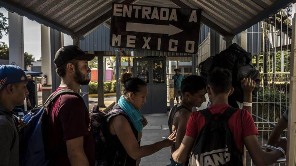 Éxodo centroamericano sigue hacia Estados Unidos