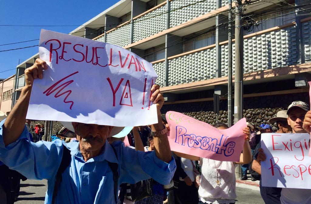 Pueblo Xinka exige se respete la resolución de la CC
