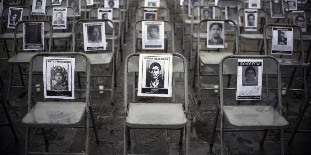 Las 45 mil víctimas de desaparición que el estado no quiere buscar