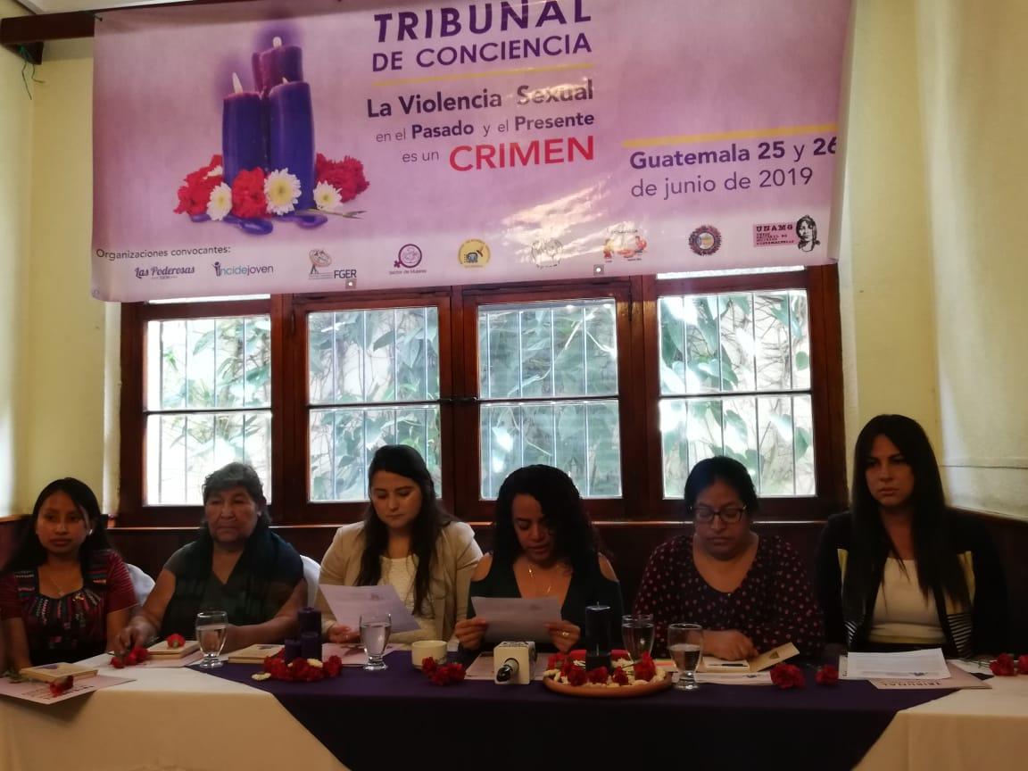 Realizan tribunal de conciencia sobre la violencia sexual ante falta de justicia