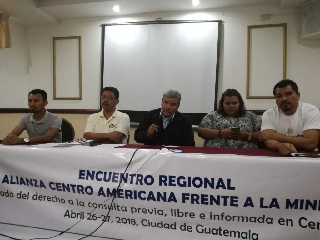 Centroamérica es la región más amenazada por proyectos Extractivitas