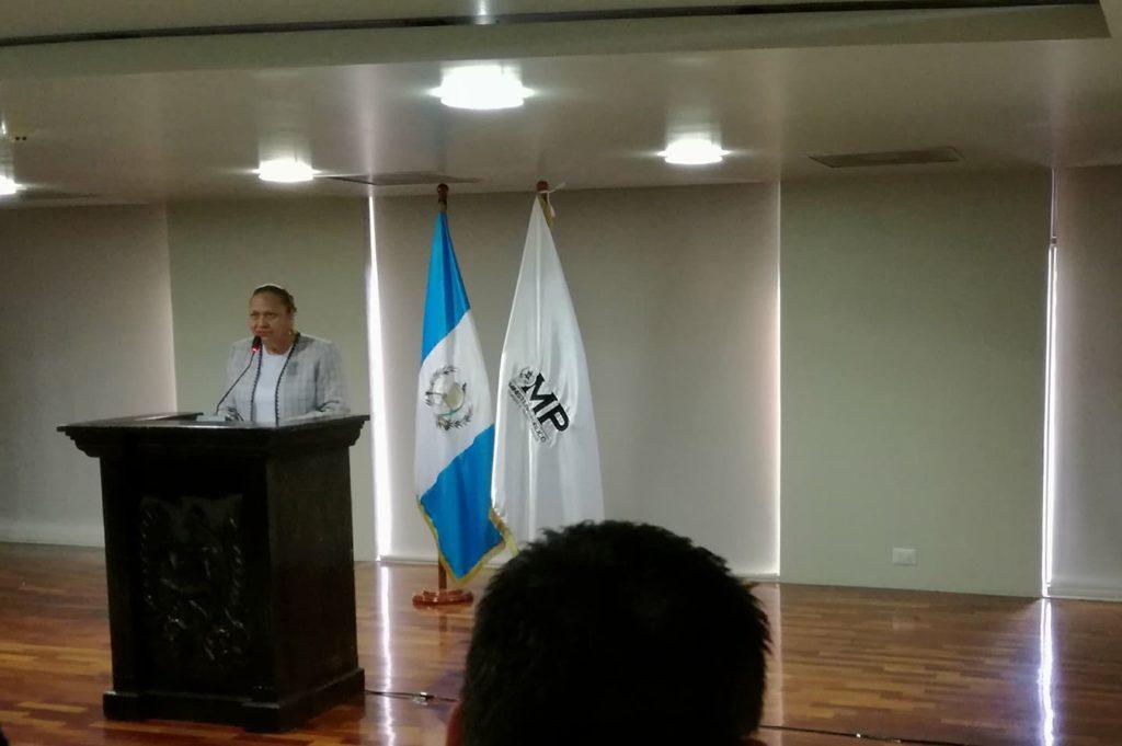 Consuelo Porras tomo posesión como Fiscal General