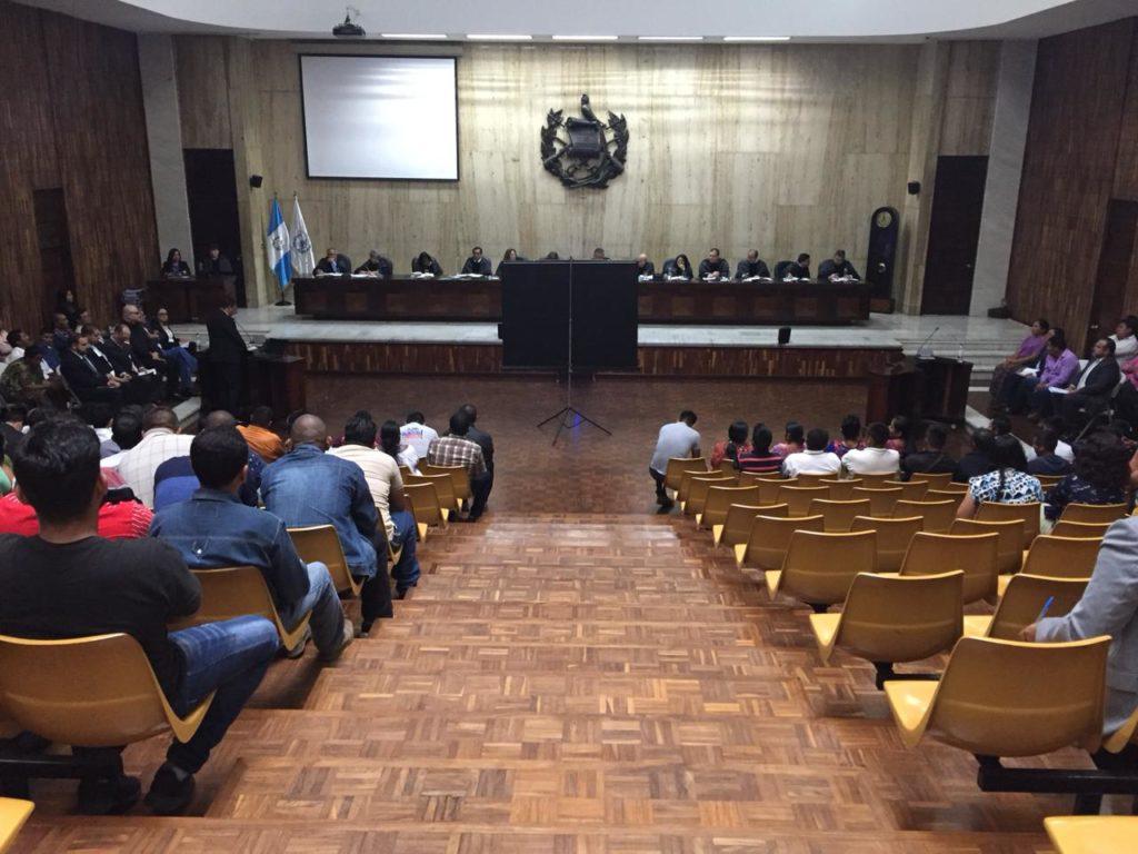 El Pueblo Q'eqchi' pide ante la corte Suprema su derecho a consulta