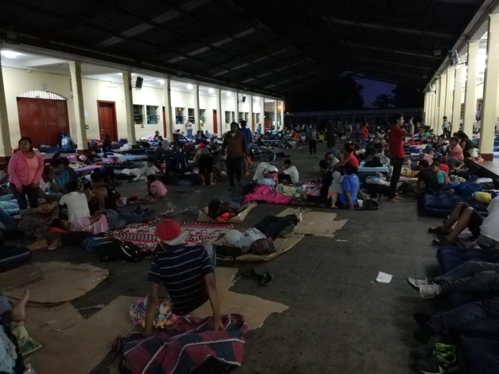 Más de 13 mil migrantes han llegado a territorio nacional, buscando refugio en Estados Unidos