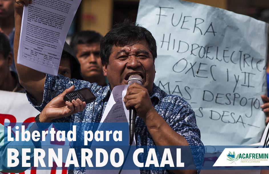 Libertad para Bernardo Caal