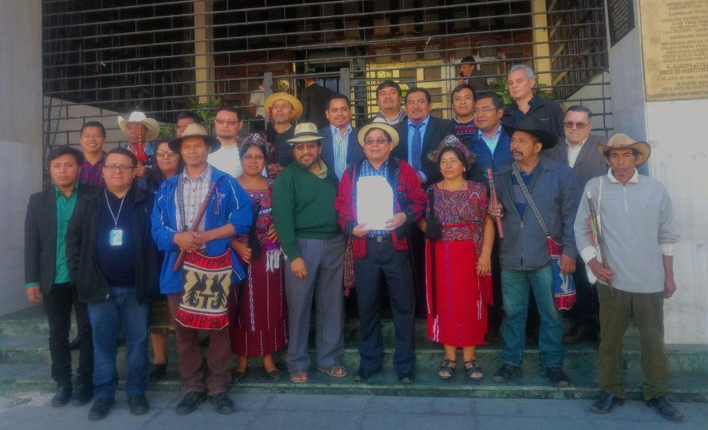 Autoridades ancestrales e indígenas colocan un amparo contra la CSJ