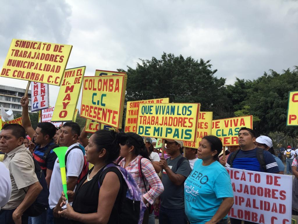 Las trabajadoras y trabajadores tomaron las calles
