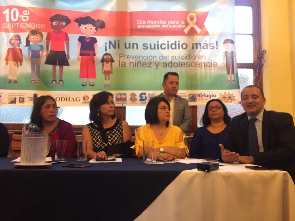 Organizaciones llaman a prevenir los suicidios en la niñez y adolescencia