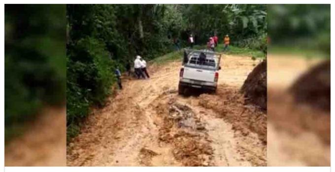 Chiquimula: Economía de comunidades en riesgo por carreteras en mal estado