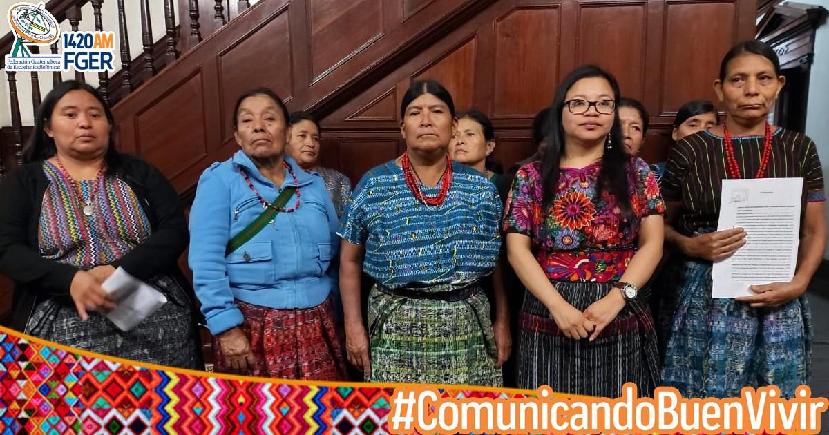 Mujeres Achi denuncian a Claudette Domínguez por racismo