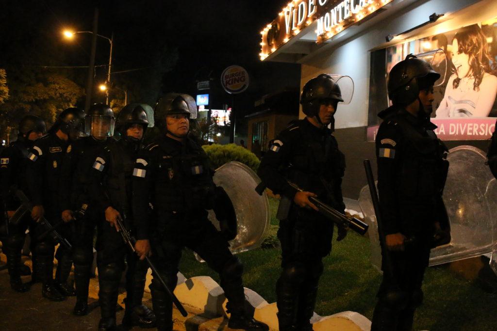 """""""Vamos a seguir en las calles y no estamos dispuestos a recibir más represión"""""""