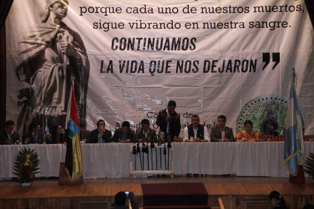 """""""Nos oponemos a la minería y también queremos que se resuelva el problema del alza a la energía eléctrica"""""""