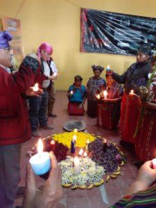 Honran memoria de víctimas de la guerra en Nebaj