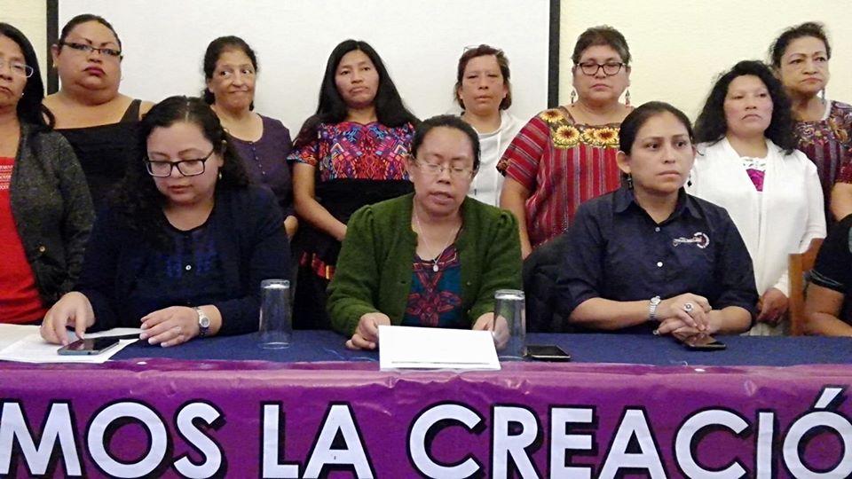 Mujeres se oponen a posible cierre de la SEPREM