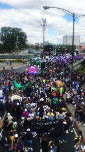 Desde la alegría y la rebeldía se denuncia la violencia contra las mujeres