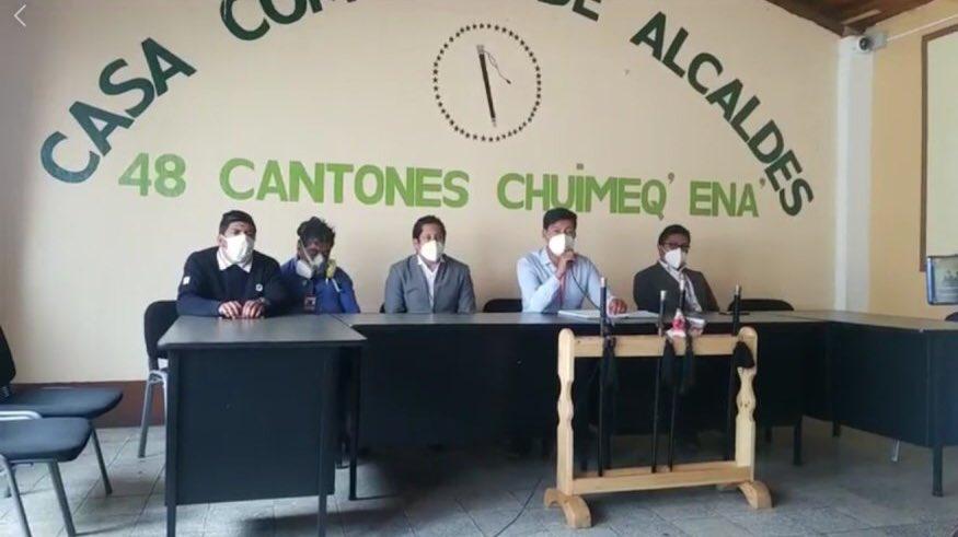 Los 48 cantones de Totonicapán piden al gobierno habilitar espacios de aislamiento para deportados