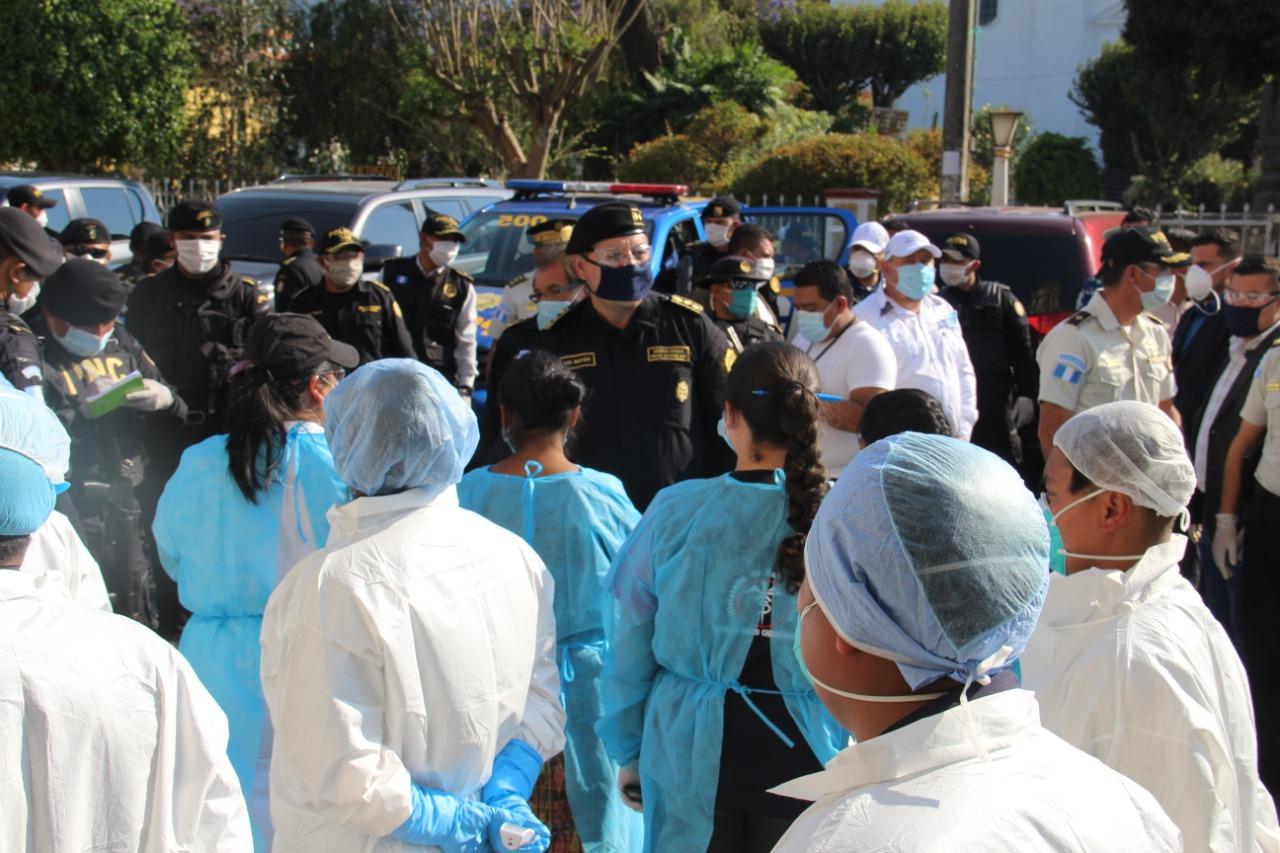 Personal de Salud inicia visitas en todas las viviendas del municipio de Patzún