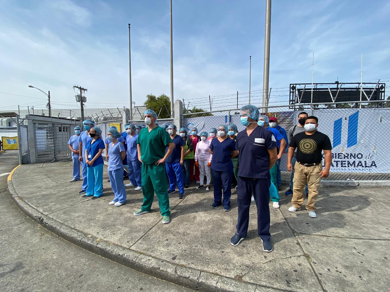 Médicos alzan la voz ante malas condiciones en el Hospital Parque de la Industria - Federación Guatemalteca de Escuelas Radiofónicas