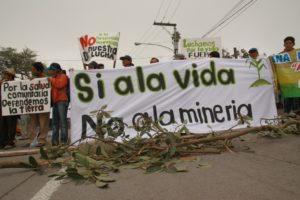 El pueblo Xinka denuncia la Mina (Solidaridad por DPI)