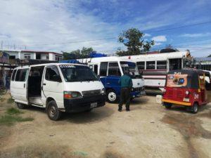 Poptún: Buses extraurbanos reinician labores con medidas sanitarias