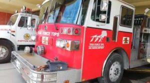 Migrantes donan unidad contra incendios